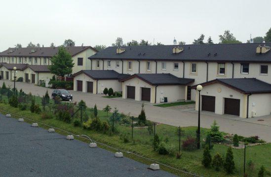 GRO-DACH Osiedle Zielone Wzgorza dachowka Euronit grafit