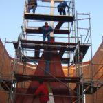 Gro-Dach Budowa wieży na kościele w Aleksandrowie Łódzkim