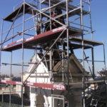 Gro-Dach Remont wieży kościoła na Placu Wolności