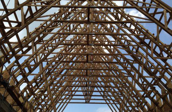 GRO-DACH wierzba dachowa Kościół Zesłania Ducha Świętego