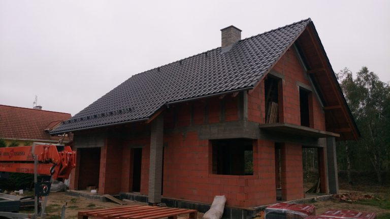 GRO-DACH budowa domu jednorodzinnego Alegra 9 antracyt